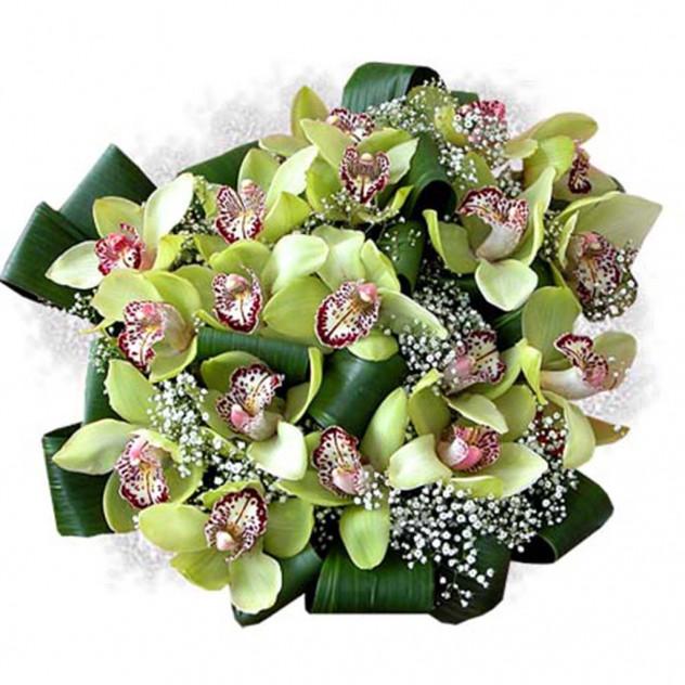 Букет из орхидей № 2